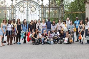 Inflexyon студенты в парке